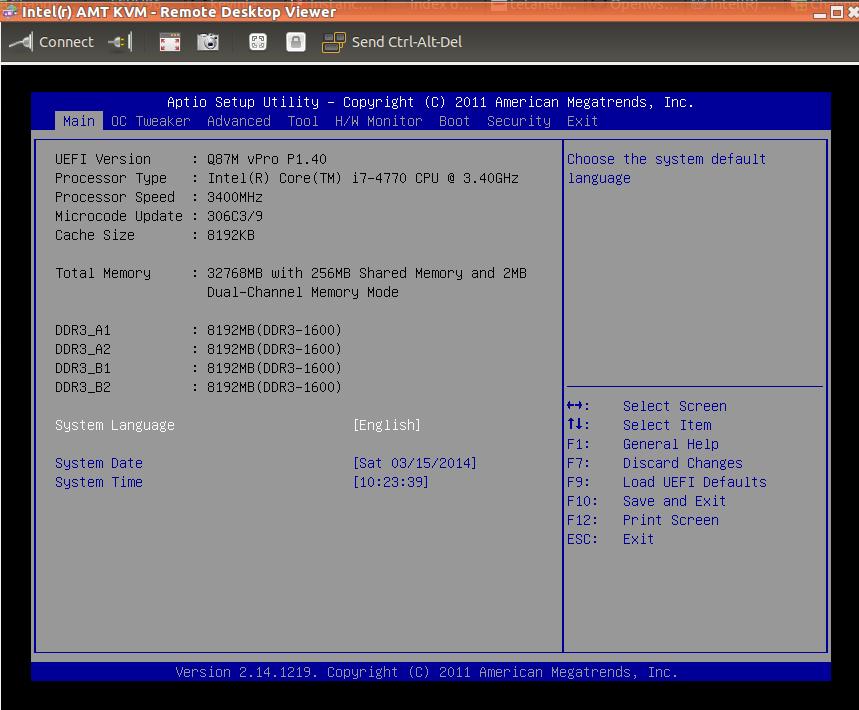 BIOS and console access via VNC – Loic Dachary